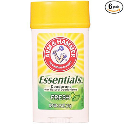 Best Deodorants for Sensitive Skin Arm & Hammer Essentials Fresh 6 pack