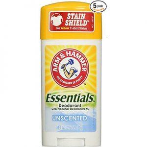 Best Unscented Deodorants Arm & Hammer Essentials Natural Deodorant 5pack