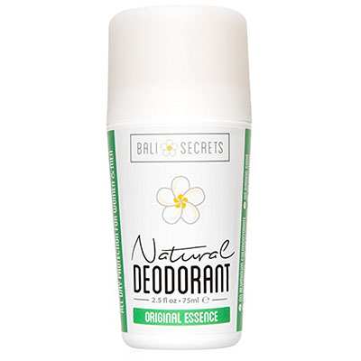 Best Cruelty Free Deodorants Bali Secrets Natural Deodorant – 2.5 fl.oz/75ml