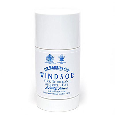 Best Alcohol Free Deodorants D.R.Harris & Co Windsor Stick Deodorant