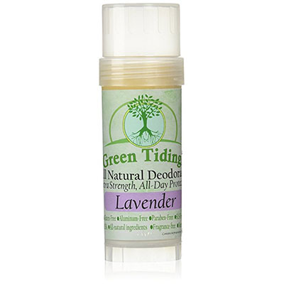 Best Cruelty Free Deodorants Green Tidings All Natural Deodorant *Extra Strength, All Day Protection* 2.7oz Lavender