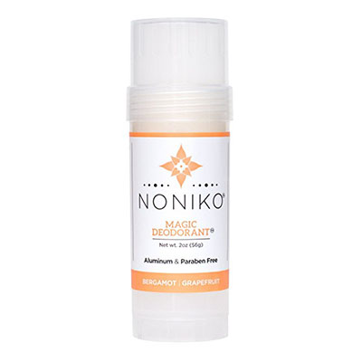 Best Cruelty Free Deodorants Noniko Magic Deodorant - Bergamot Grapefruit - Single