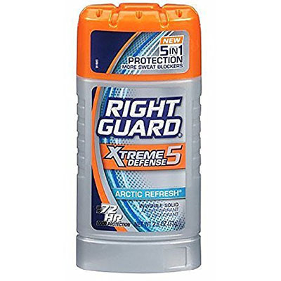 Best Clinical Strength Deodorants Right Guard Xtreme Defense 5 Anti-Perspirant & Deodorant