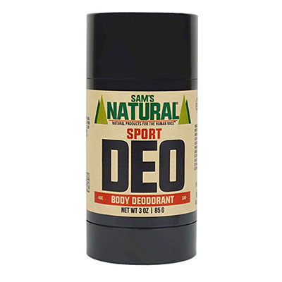 Best Cruelty Free Deodorants Sam's Natural Deodorant Stick - Sport, Cruelty Free, Aluminum Free, Vegan, Three-ounce size