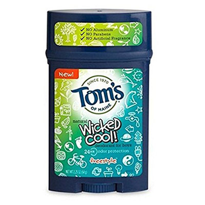 Best Deodorants for Kids Tom's of Main Wicked Cool!
