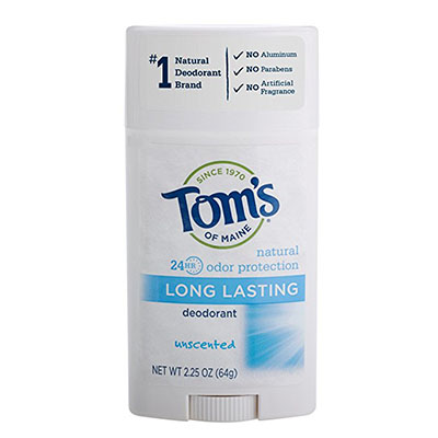 Best Unscented Deodorants Tom's of Maine Natural Deodorant Stick