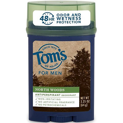 Best Antiperspirants for Men Tom's of Maine North Woods