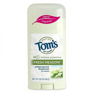 Best Antiperspirants for Women Tom's of Maine Women's Antiperspirant Deodorant Stick