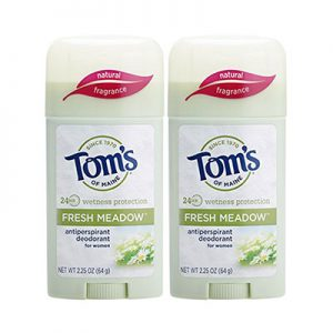 Best Antiperspirants for Women Tom's of Maine Women's Antiperspirant Deodorant Stick 2pack