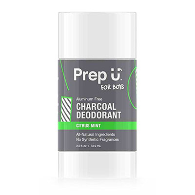 Best Deodorants for Kids with Sensitive Skin Prep-U Charcoal Deodorant