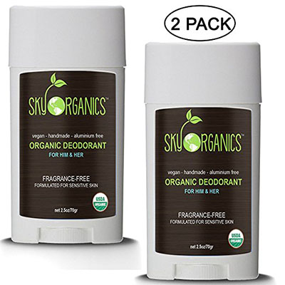 Best Deodorants for Kids with Sensitive Skin Sky Organics Deodorant