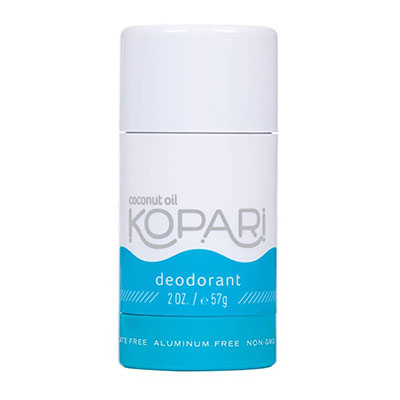 Tom's of Maine Natural Long Lasting Deodorant Stick Review Kopari Aluminum-Free Deodorant