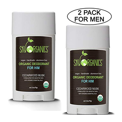 Sky Organics Deodorant Review Sky Organics for men
