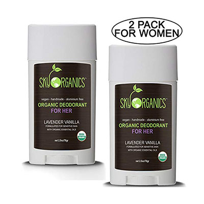 Sky Organics Deodorant Review Sky Organics comes in a version for women