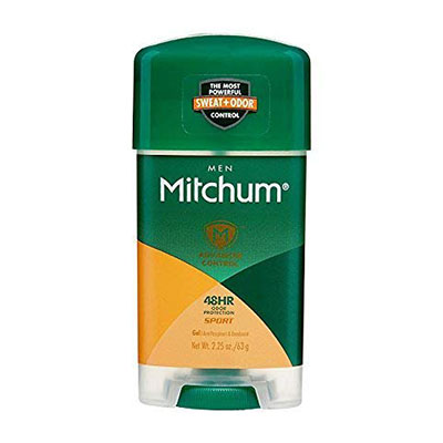 Best Gel Deodorants Mitchum Clear Gel Antiperspirant & Deodorant