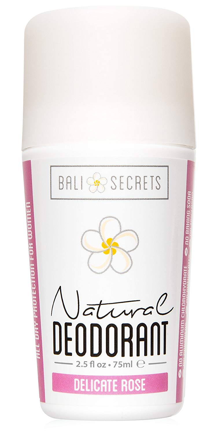 Bali Secrets Natural Deodorant Delicate Rose
