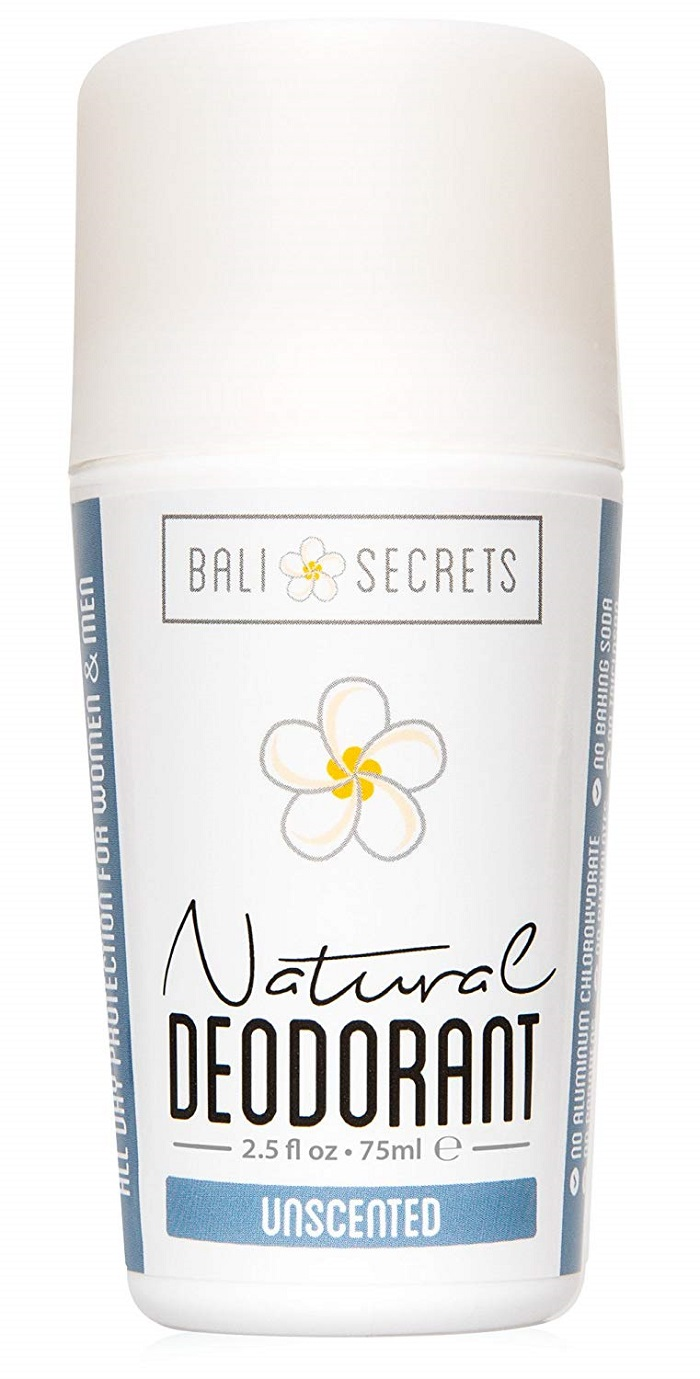 Bali Secrets Natural Deodorant Unscented